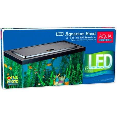 Aqua Culture LED Aquarium Hood for 20/55 Gallon Aquariums (Aquarium Hood 55 Gal compare prices)