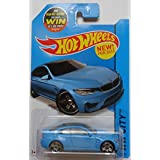 2015 Hot Wheels Hw City - BMW M4 (Blue)