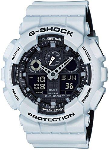 CASIO(カシオ) G-SHOCK Gショック GA-100L-7A ブラック×ホワイト メンズ 腕時計 [並行輸入品]