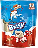Busy Bone Dog Treat, Mini, 21-Ounce Pouch, Pack of 1
