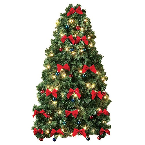 space-saving-christmas-wall-hanging-tree-pre-lit-pre-decorated-and-ready-to-hang