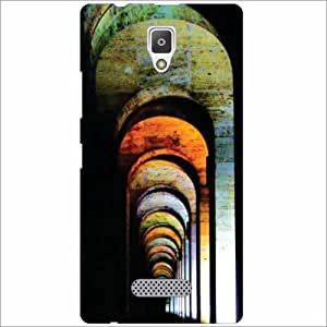 Lenevo A2010 Back Cover - Silicon Abstract Designer Cases
