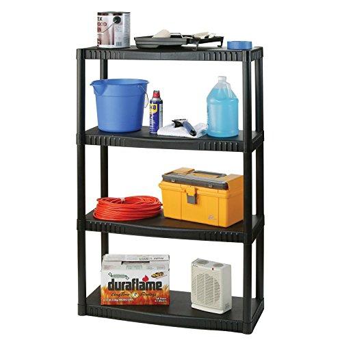 Plano Molding 93741 4 Shelf Utility Shelving (Resin Storage Shelves compare prices)