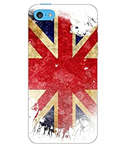 APPLE IPHONE 5C FLAG Back Cover by PRINTSWAG
