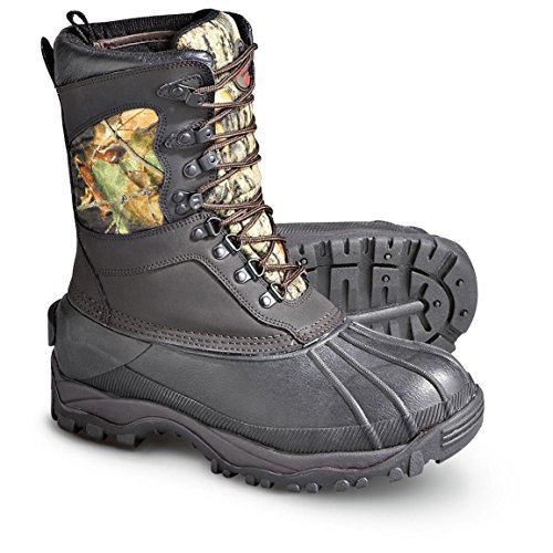 Pro Line Men's Winchester Big Mike Waterproof, Insulated Camouflage 9 Inch Hunting Boots (11, Brown Mossy Oak Break Up) (Hunting Boots For Men Insulated compare prices)
