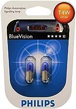 Comprar Philips 12929BVB2 Blue Vision - Bombillas para faros delanteros (T4W, 2 unidades)