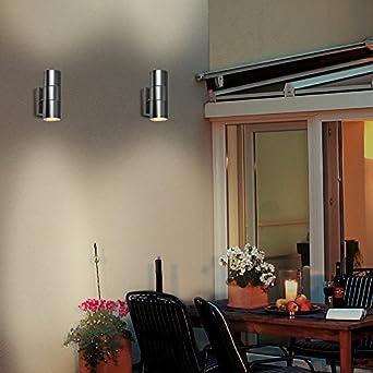 led wandleuchte rom wandlampe au enleuchte up down 2. Black Bedroom Furniture Sets. Home Design Ideas