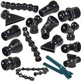 Lifegard Aquatics ARP270863 Ball Socket Pipe MPT Valve for Aquarium Pumps, 1/2-Inch