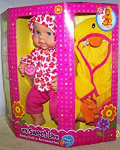 "My Sweet Love *11.5"" Baby Doll & Accessories* Playset"