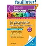 Géographie économique aux concours 2012-2013