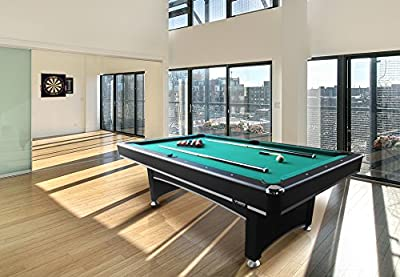 "Triumph Sports USA Phoenix Billiard Table with Table Tennis Top, 84"""