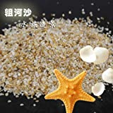 Gozebra(TM) 100g River Sand Gravel Stone Rock Chip For Aquarium Fish Tank Landscape Decor