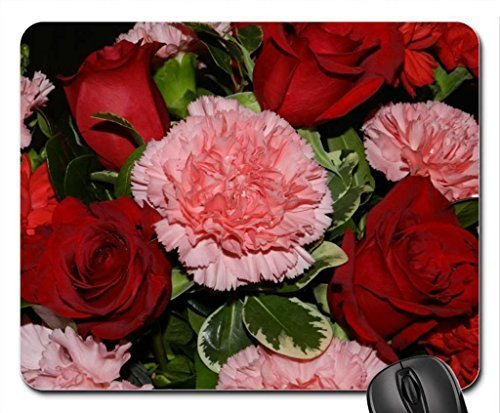 carnations-and-roses-mouse-pad-mousepad-flowers-mouse-pad