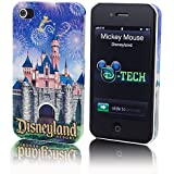 Disney D-Tech iPhone 4 4s Case Cover Sleeping Beauty Castle Disney Theme Parks Exclusive & Limited Availability