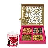 Valentine Chocholik Premium Gifts - Love Majestic Gift Box With Love Mug