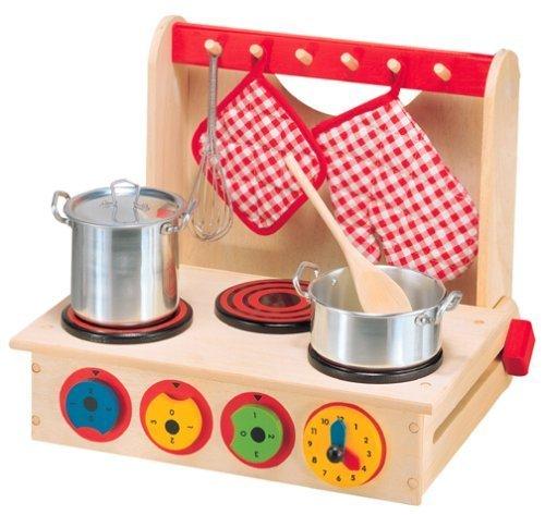 ALEX® Toys - Pretend & Play Wooden Cook Top 13 Children, Kids, Game