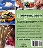 Organic Baby & Toddler Cookbook