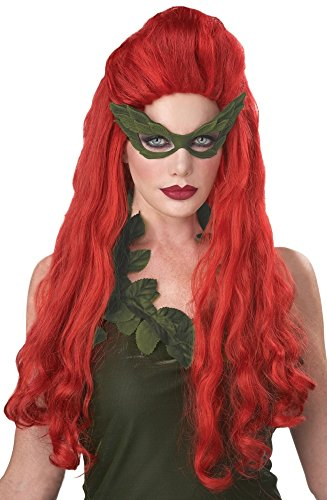 Women's Lethal Beauty Wig Long Ivy Red Poison, Red