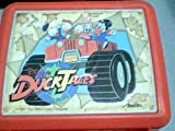 1986 The Walt Disney Company Disney's Duck Tales Aladdin Plastic Lunch Box (Red Plastic Lunch Box only)