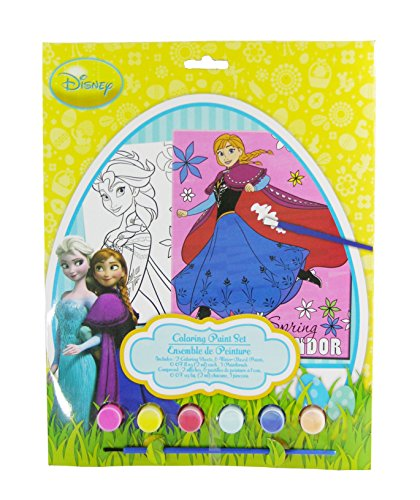 Disney Frozen Easter Coloring Paint Set - 1