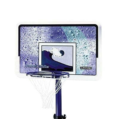 Lifetime Pool Side Adjustable Portable Basketball Hoop 1301-P by Lifetime