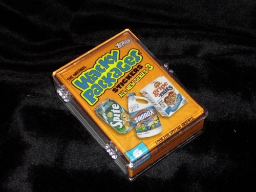 Topps Wacky Packages Series 3 Complete Set of 55 Stickers -Great Product Parodies- Designed after the classic '70s sets !! (Wacky Packages Set compare prices)