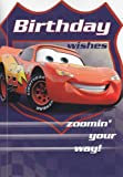 Greeting Card Birthday Cars Birthday Zoomin' your way
