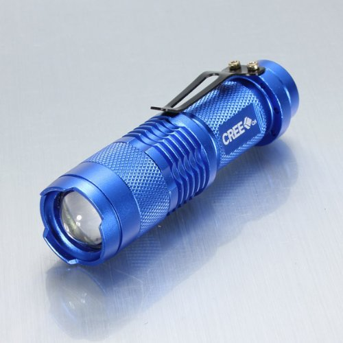 Meco(Tm) Mini Cree Led Flashlight Torch Adjustable Zoom Light Lamp