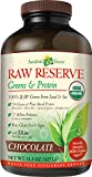 Amazing Grass Raw Reserve Greens + Protein- Chocolate, 10 Servings, 11.5 Ounces