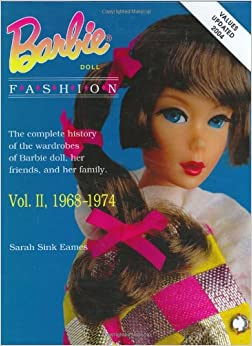 Fabulous Fashions Of The 1980s Hardcover Barbie Doll Fashion Vol
