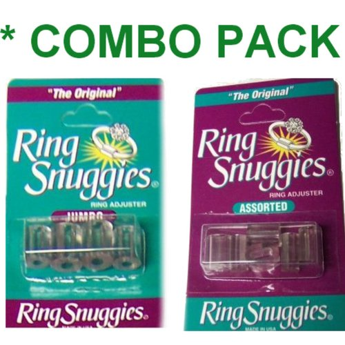 Ring Snuggies Adjusters Original AND Jumbo Sizes ** COMBO PACK **