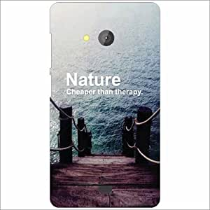 Microsoft Lumia 540 Dual SIM Back Cover - Nature Love Designer Cases