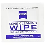 50 Ct - Zeiss Pre-Moistened Lens Cleaning Cloths for Cameras, Microscopes, Glasses