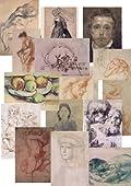 15 Master Drawings Postcards
