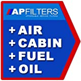 AIR OIL FUEL CABIN FILTER SERVICE KIT Subaru Forester 2.0 S Turbo SUV SG [2002-2008]