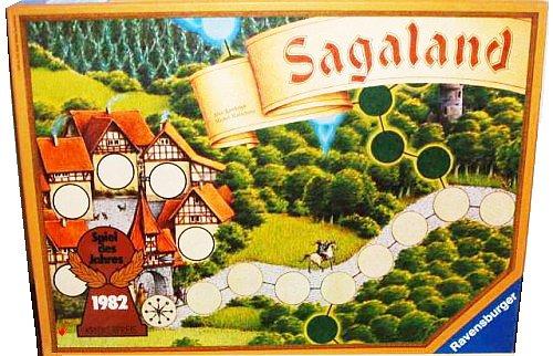 Sagaland. Spiel des Jahres 1982. Alte Ausgabe.