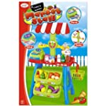 Toyrific 30 Piece Market Stall Play Set