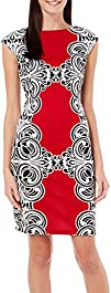 London Times Women's Scroll Printed S…