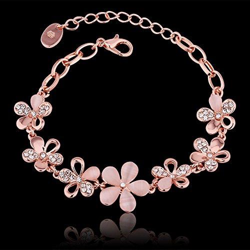 Buy Aaishwarya Gold crystal Charm Bracelet for Girls on ... Gold Charm Bracelets For Girls