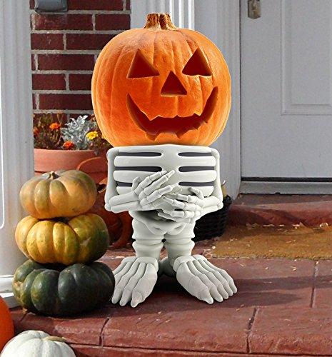 Indoor Outdoor Halloween Decorations Skeleton Pumpkin