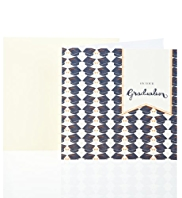 Graduation Hats Greetings Card