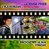 Modern Asia  license royalty copyright free indie score Gemafreie Filmmusik