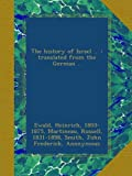 The history of Israel ... : translated from the German ..
