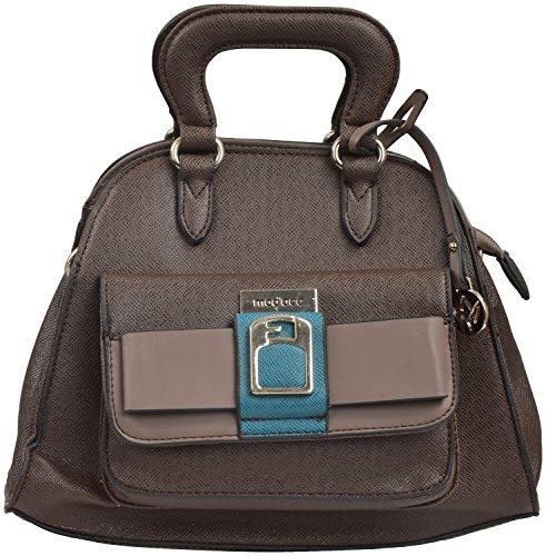 gouri bags simple brown colour casual designer stylish spacious