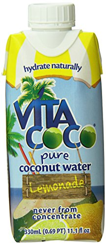 Vita Coco Coconut Water, Lemonade, 11.1 Ounce (Pack of 12) (Vitacoco Pure Coconut Water compare prices)