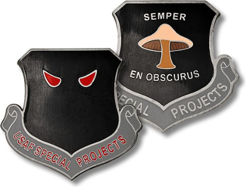 USAF Special Projects Challenge Coin