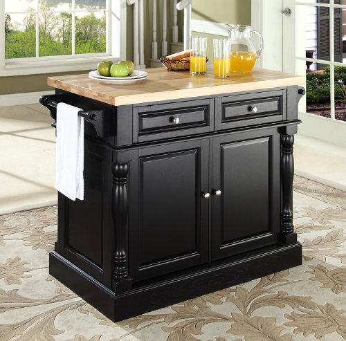 Buy low price crosley furniture butcher block top kitchen for Best place to buy kitchen island