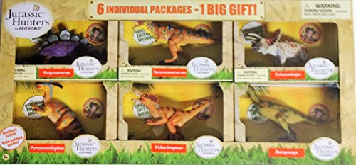 Jurassic Hunters, 6 INDIVIDUAL PACKAGES - 1 BIG GIFT - 1