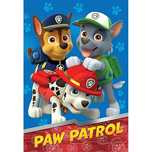 Cheapest Prices! Nick Jr Paw Patrol All Paws on Deck Micro Raschel Blanket, 62 by 90-Inch