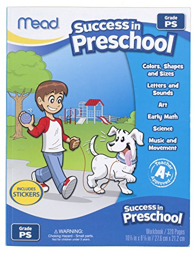 Mead Success In Preschool Workbook, Grades Pre-K (48108) front-237985